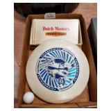 Frisbee & Dutch master cigar box
