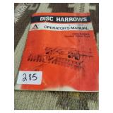 AC Disc Harrows manual