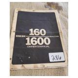 Bush hog 160 manual