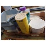 Garden spreader & yard supplies