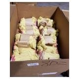 8 Doz. Yellow Fingerless Work Gloves