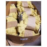 15 Doz. Yellow Fingerless Work Gloves