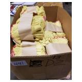 13 Doz. Yellow Fingerless Work Gloves