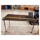 """Metal Table 32"""" x 64"""""""
