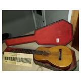 J R Holcomb Hawaiian Guitar