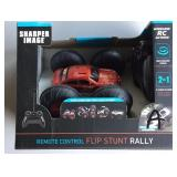 Sharper Image RC Flip Stunt Rally Car Lot  A