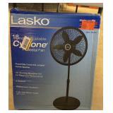 """Lasko 18"""" Adjustable Cyclone Pedestal Fan"""