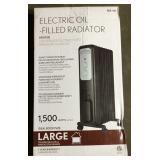 SAI Oil Filled Radiator Heater 1,500 watts Lot C