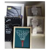 Picture Frames, Chalkboard for Baby, Guest Book