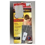 Sunbeam Heating Pad Xpress Heat Standard Lot B