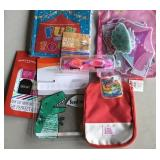 Swim Goggles, Lunchbag, Gift Tags