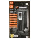PELONIS Electric Radiator Heater, 1500W Lot C
