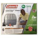 """Coleman 18"""" Twin Guestrest Airbed w/ Pump"""