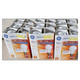 GE Ultra Soft White 29w=40w 4 pack Lot of 9 Lot  A
