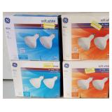 GE Floodlight 65w Soft White 2 Pack Lot of 4
