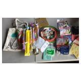 Foam Sticks, Plates, Garland, Bags