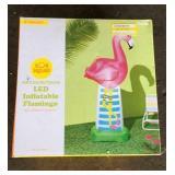 LED Inflatable Flamingo