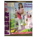 Feber My Lovely Unicorn 12V Ride On Lot C