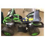 12 Volt Yamaha Raptor Battery Powered Ride Lot E