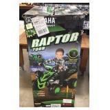 12 Volt Yamaha Raptor Battery Powered Ride Lot G