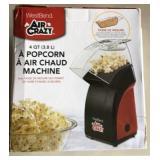 WestBend Air Craft 4 QT. Hot Air Popcorn Lot C