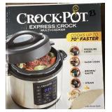Crock-Pot Express Crock 6qt Pressure Cooker Lot B