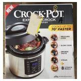 Crock-Pot Express Crock 6qt Pressure Cooker Lot A