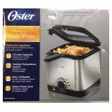 Oster 1.5 Liter Compact Stainless Steel Deep Fryer