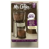 Mr. Coffee Automatic Burr Mill Grinder - Stainless