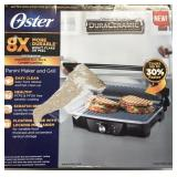 Oster 3-in-1 Panini Maker, Indoor Grill