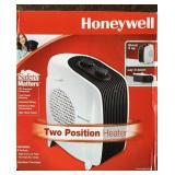 Honeywell Two Position Fan Heater Lot A