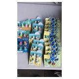 Puzzle Erasers Lot of 21