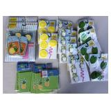 Straw Charms, Banners, Table Tents