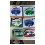 Goggles, Mask Pool Lot of 6