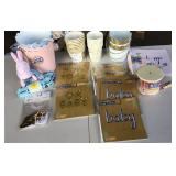 Baby Party Supplies Lot
