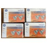 Halogen 38w 2 Pack Lot of 4