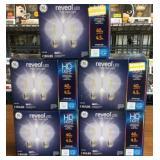 Reveal 40w(4.5w) 2 Pack LED HD Light G25 Lot of 5