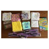 Party Supplies (Napkins, Stickers, Figures, Toys)