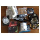 Tools (Chainsaw, Gloves, Plumbing, Door Handle)