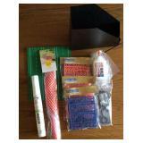 Plastic Letters & Numbers, Glue, Food Tent