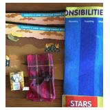 Responsibility Chart, Sticker Book, Cards