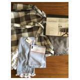 Tablecloth, Napkins, Towels
