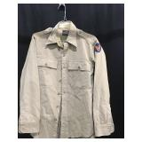 Military uniform shirt