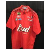 Bud racing shirt