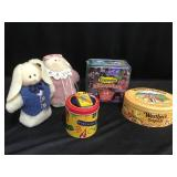 Tins and bunnies