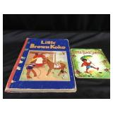 Little Brown Koko and Little Black Sambo books