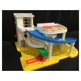 Vintage Fisher price little people garage
