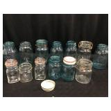 Ball jars, Atlas Jar & misc