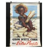 Poster Grow White Corn