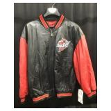 Iowa State Leather Coat